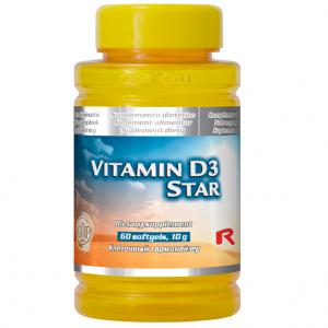 Vitamina D3 Star - mentine sanatatea oaselor si danturii